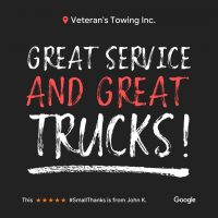 Oakbrook Terrace Veterans Towing & Recovery | Reviews