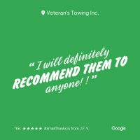 Lombard Veterans Towing & Recovery | Reviews